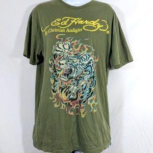 Christina Aguilera Ed Hardy T-shirt